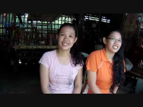 A Couple Shy But Very Nice And Hard Working Sisters In Burgos A BlindOwl Outdoors Expat Philippines