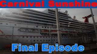 It's time to go home! | Ep. 24 Carnival Sunshine Cruise Vlogs!