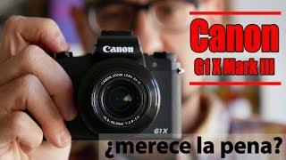 Canon G1 X Mark III, probamos la compacta más cara y potente de la firma