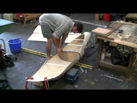 How to build a kayak catamaran using 1 5mm plywood