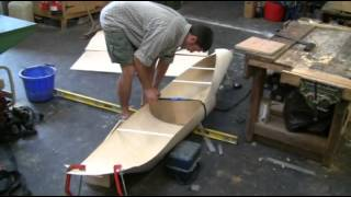 How to build a kayak catamaran using 1.5mm plywood