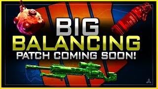 Weapon Balancing + Concussion & Armor Nerf Coming Soon!