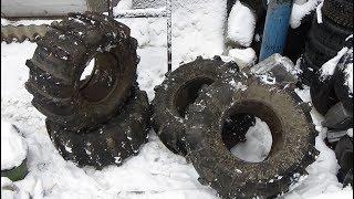 продам шины низкого давления  (ободрыши КФ- 97)