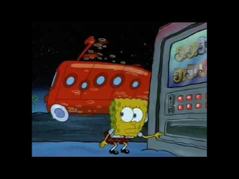 Spongebob glove world bus