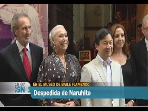 Museo del Baile Flamenco: visita del Príncipe Naruhito de Japón
