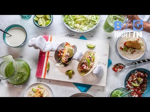 Baja Fish Tacos Recipe | Big Night In