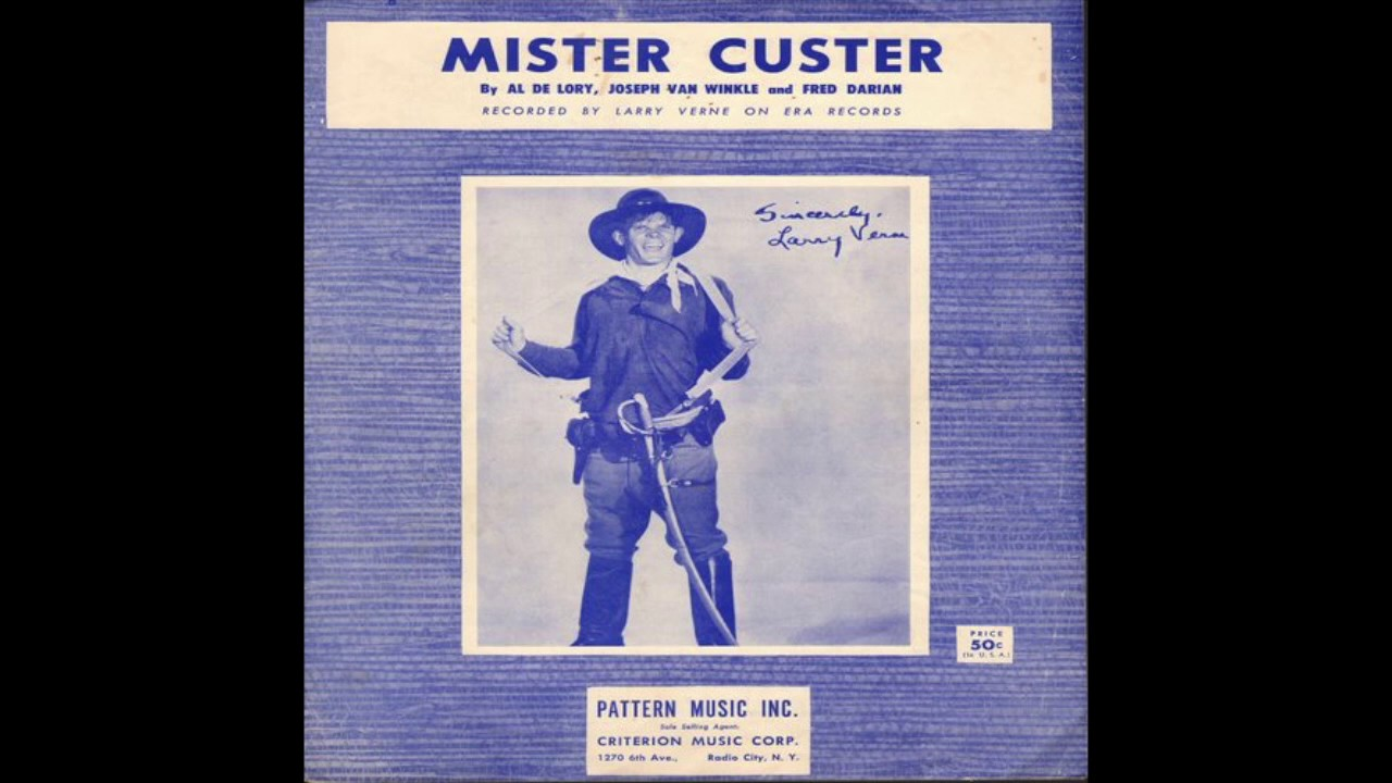 Please mr custer larry verne