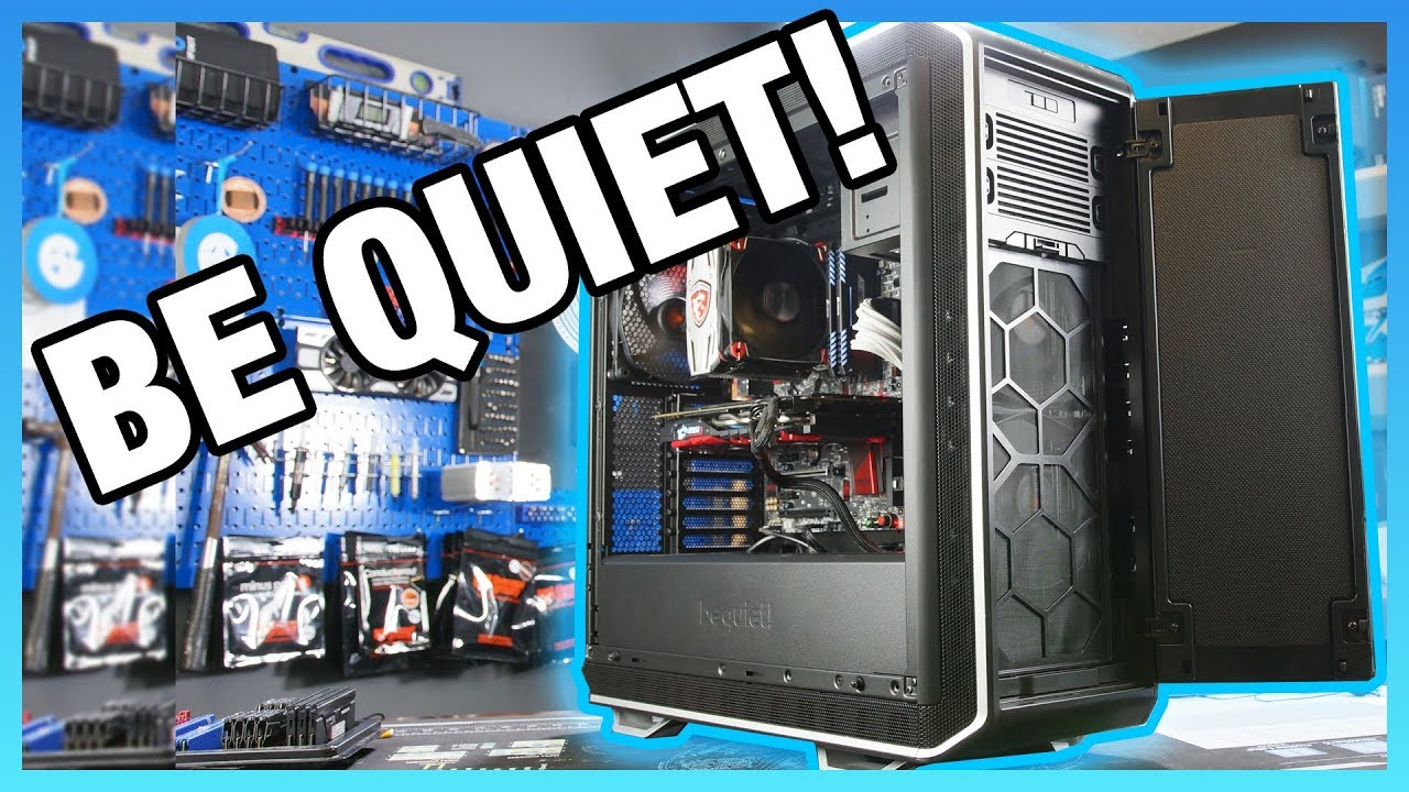 Be Quiet! Dark Base Pro 900 Rev2 Review & Benchmarks - YouTube