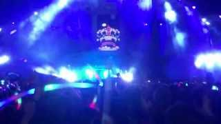 Hardwell & Dyro - Never Say Goodbye (Wildstylez Remix)  Live @ Summerfestival 2013