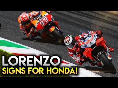 MotoGP 2018 News   LORENZO SIGNS FOR HONDA IN 2019 AND 2020 & PETRUCCI MOVES TO DUCATI Mp3