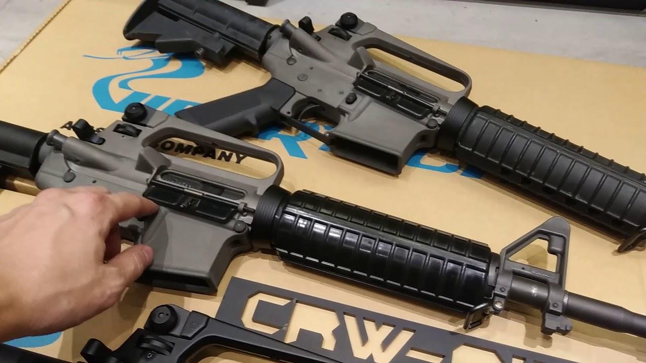 CRW介紹2017 Viper Tech新A2系列M16A2, M727, M733