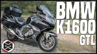 Better Than a GOLDWING? | First Ride on a BMW K1600 GTL
