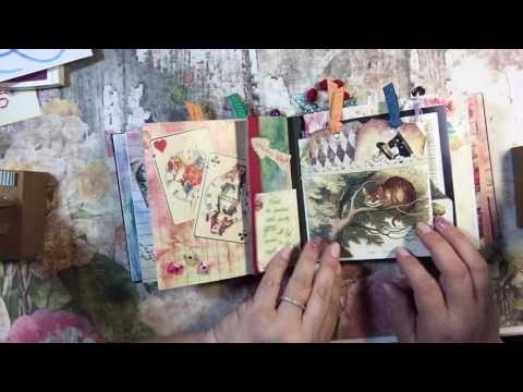 Mini Album Featuring Alice in Wonderland