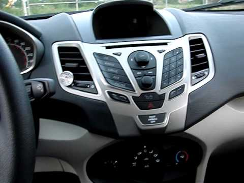 2012 ford fiesta interior quality youtube. Black Bedroom Furniture Sets. Home Design Ideas