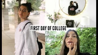 VLOG- First Day Of College