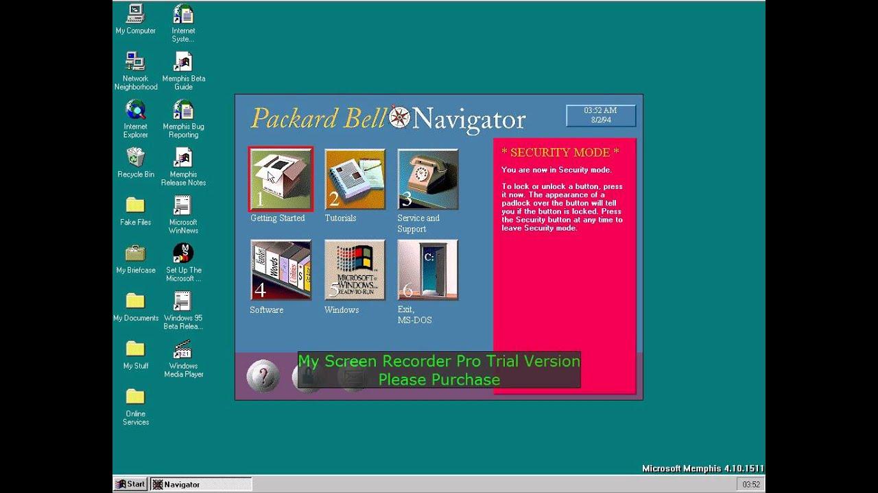 Packard bell 3d navigator youtube.