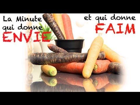 La minute qui donne envie : carotte