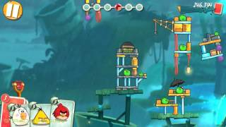 Angry Birds 2: Level 234: Walkthrough (3 STARS) HD