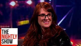 Megan Mullally Won A Singing Competition With Donald Trump | The Nightly Show