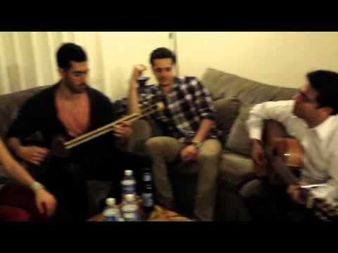 Morteza Pashaie Jadeye Yektarafe: Practice at a friend's house