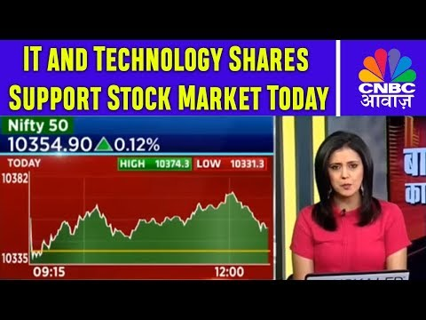 IT and Technology Shares Support Stock Market Today | 23rd Nov | CNBC Awaaz