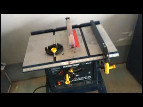 Mastercraft table saw 10a youtube mastercraft table saw 10a greentooth Images