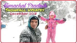 Snowfall in Manali 2018, Manali Snowfall 2018, #KulluManali #Snowfall2018 #Manali