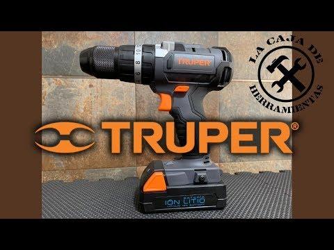 Taladro percutor atornillador Truper 18V Sin Carbones ROTI-18N2