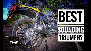 Triumph Street Cup - The best stock Triumph exhaust sound?