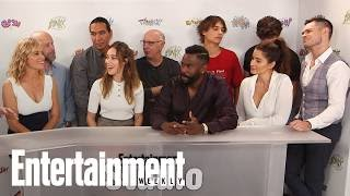 'Fear The Walking Dead' Cast Tease 'Darker & Deeper' Return | SDCC 2017 | Entertainment Weekly
