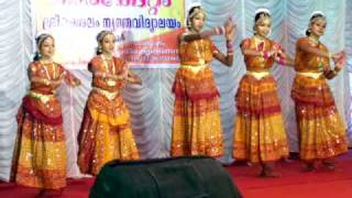 Maria - Dance - Nandanam  Mouliyil