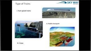 Presentation of the SkyWay Technology English Webinar