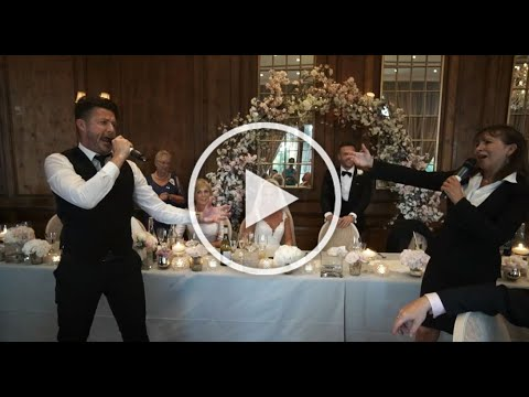 The Singing Waiter Masters finale at Hedsor House