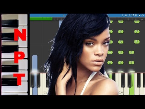 Rihanna - Stay - PIANO PARTS ONLY - How to play Stay - Piano Tutorial
