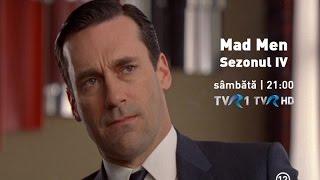 Mad Men - sezonul IV, în premieră la TVR1 şi TVR HD