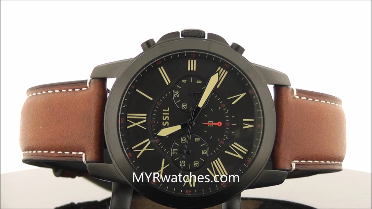 Favori Fossil Grant FS5241 - YouTube UW81