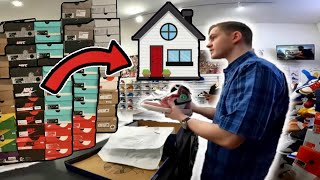 He Sold His Sneaker Collection To Buy A House!