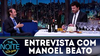 Entrevista com Manoel Beato | The Noite (20/08/18)