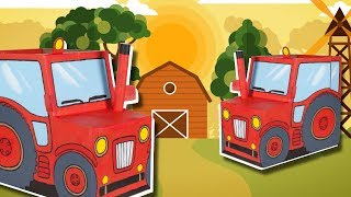 Tractor - Funny DIY craft ideas with boxes | Kids DIY on Box Yourself