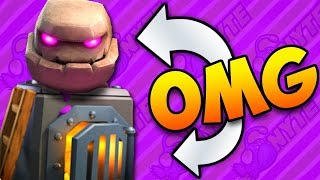 Video GOLEM FURNACE Power Deck! Clash Royale download MP3, 3GP, MP4, WEBM, AVI, FLV Agustus 2017
