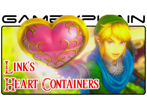 Hyrule Warriors Link Heart Piece Container Guide Wii U Youtube