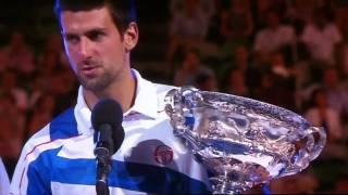 Australian Open 2011: Novak Djokovic and Andy Murray Speech