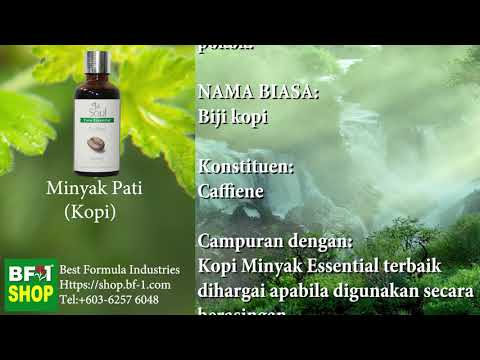 Pati Minyak Wangi Aromatik - Kopi (Coffee)