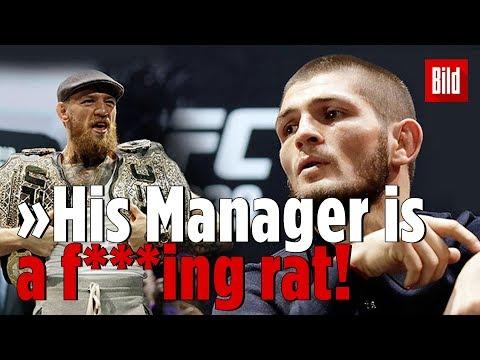 McGregor protzt – Khabib verlässt Konferenz | Das UFC-Duell des Jahres