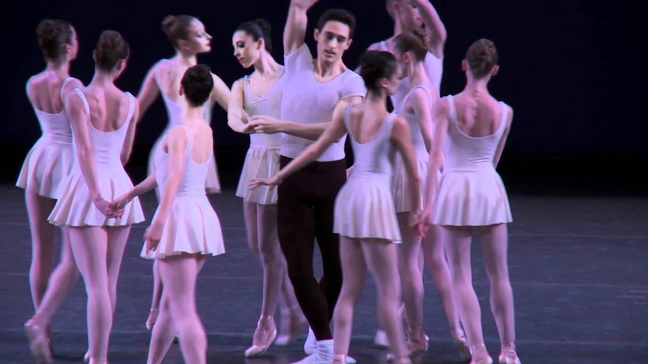 NYC Ballet's Ashley Laracey on George Balanchine's CONCERTO BAROCCO