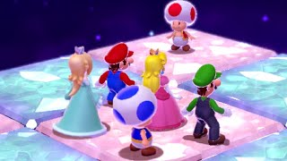 Super Mario 3D World - Champion's Road with All Characters (World Crown-Crown)