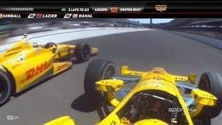 2014 Indy 500 Finish