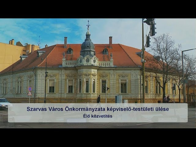 Szarvas Város Önkormányzata képviselő-testületi ülése (2019. 06. 20.)