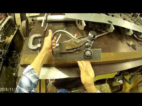 Роликовый нож для листового металла своими руками