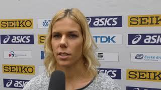 Nikola Ogrodníková na tiskové konferenci ke KP